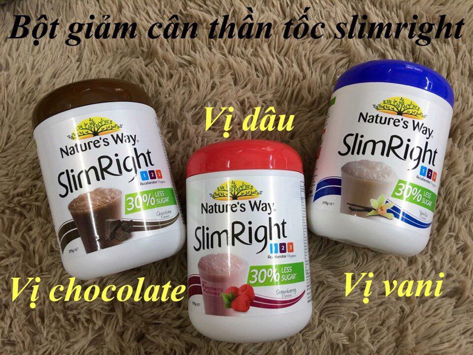 Sữa giảm cân Nature's way Slim Right