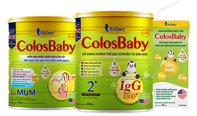 Sữa non cho trẻ COLOSBABY GOLD